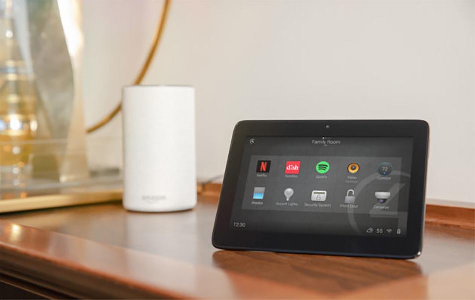 Alexa speaker and control4 visualisation